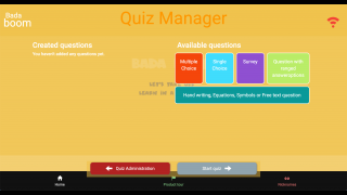 Develop a variety of questions for a game-based quiz approach.