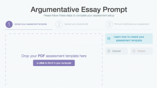The user interface is clean, and it's easy to add assignments.