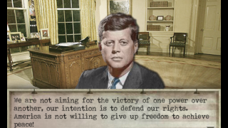 In Cuba's Days, users relive the complex series of decisions President Kennedy faced in October 1962.