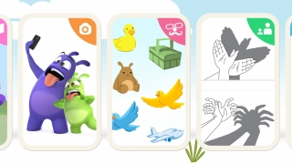 Activity packs include stories, videos, games, and creative prompts for play onscreen and off.