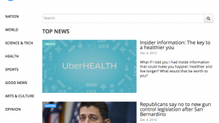 With a subscription, users can explore articles from USA Today.