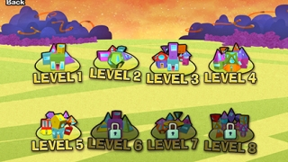 The game includes 40 challenges across 8 levels.
