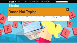 There's a step-by-step time line for learning how to touch-type.