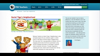 A section for teachers includes information and the site's intended lessons.