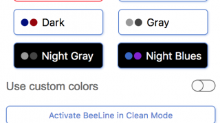 Multiple color options are available, including custom colors.