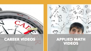 Users can access a comprehensive video library.