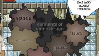 Students explore the elements of game design.
