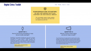 Lessons feature a Conversation Starter, activities, Closing Reflection, and Teacher Background.