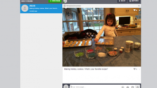 Teachers and students can send direct messages through streams.