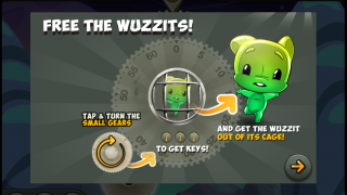 The game uses little written language.
