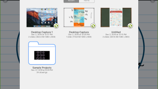 Keep presentations together in a folder for later access.