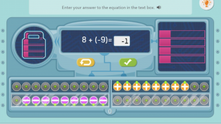 Middle school activity on adding integers that includes virtual manipulatives