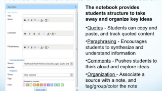 A series of slide presentation offer guidance on using EasyBib for research projects.