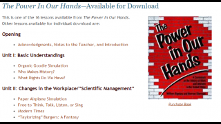 A large collectio of interactive lessons for students.