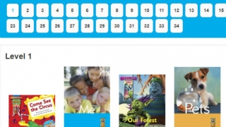 Choose from a wide variety of shared reading books.