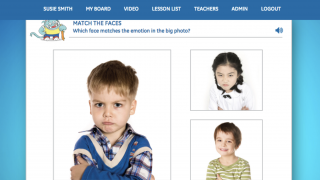 The first few units focus on emotion recognition in self and others with visual and audio support.