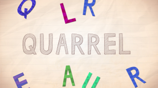 As kids drag the letters into place, they'll hear each letter say it's sound, demonstrating spelling and phonics.