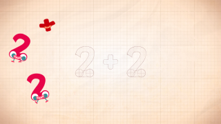 Monsters break up numbers into simple addition problems.