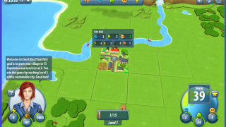 Players start with a town center, in 2010, and try to raise their population to 200.
