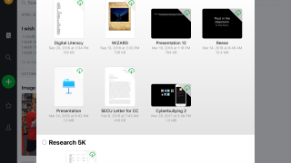 Attach differently formatted files to notes.