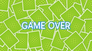 """Each round ends with a simple """"Game Over"""" screen."""