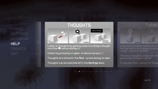 In-game help provides a quick overview of how Everything works.