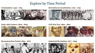 When planning to integrate the resources, teachers may find it helpful to search by time period.