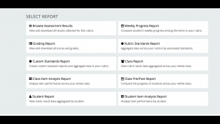 Use analysis features to gather data and differentiate assignments.