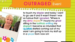 Choose words to complete an emotion-related story, Mad Libs-style.
