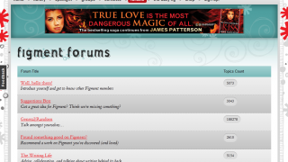 Forums are the message boards for Figment members (aka figgies).