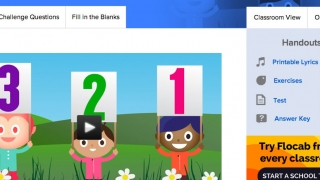 The place-value video has links to associated challenge questions, fill in the blanks, and printables.