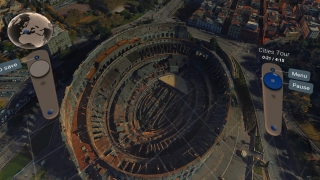 Fly above the Colosseum and prepare to get a closer look.