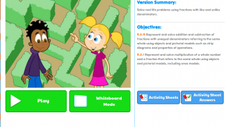 Some activities also include additional teacher resources, such as lesson plans and worksheets.