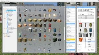 Players can use a dizzying number of objects and tools.