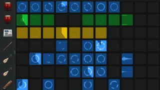 Tap to activate Live Loops instruments in realtime.