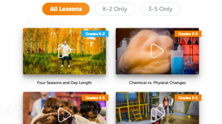 Lessons and videos are available for most of the K-5 NGSS performance expectations.