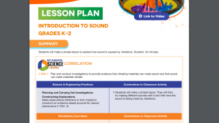 Lesson plans are tightly linked to the NGSS and follow the 5E model.