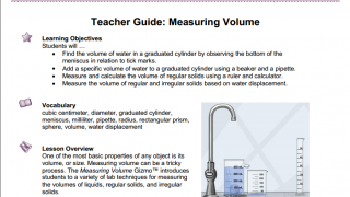 The teacher guides lay out learning objectives, lesson sequences, andscientific background information.