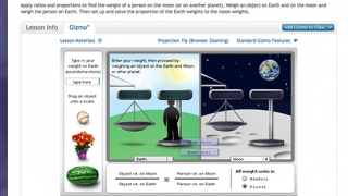 Real-world scenarios used in some gizmos make learning particularly engaging.