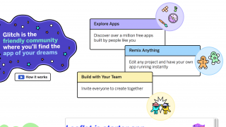 Students can view, remix, or collaborate on a community of code projects.