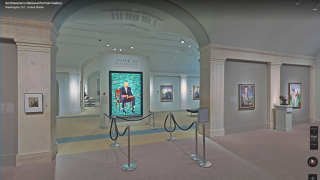 """Walk"" through museums with Street View."
