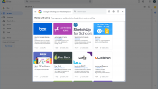 Connect more apps to Google Drive to expand the functionality through the Google Workspace Marketplace.