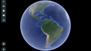 Zoom in to any spot on Earth in 3D.