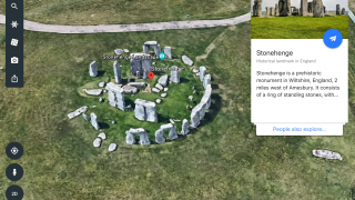 Search for just about any named spot on the globe and Google Earth will take you there.