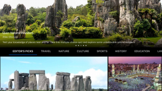 Use Voyager to see pre-made tours put together by educational organizations around the world.
