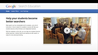 Google offers a separate section for educators with lesson plans, activities, and other items.