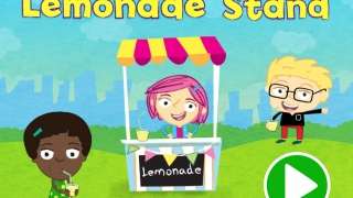 Help Gracie and her friends divide ice cubes evenly among cups to serve customers at the lemonade stand.