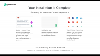Users can install Grammarly as a browser extension or a desktop app, or use the web-based platform.