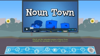 A catchy music video illustrates different types of nouns.