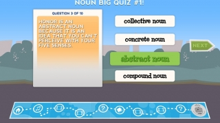 Both incorrect and correct answers are explained to help cement the knowledge.